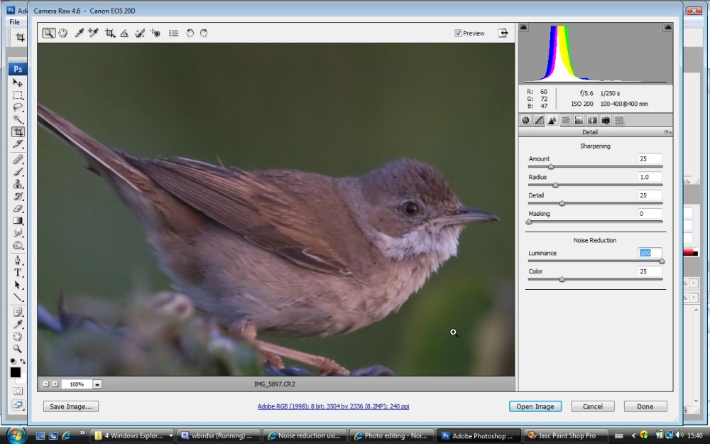 How to Reduce Noise in Photoshop - PHLEARN